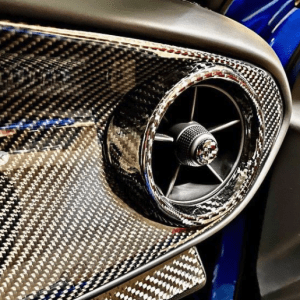 Carbon Fiber Air Vent Bezel Covers | 2016 – 2021 Chevy Camaro