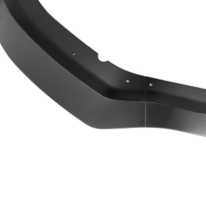 Charger Widebody Matte Black Front Bumper Lip 3PC  | 2020 – 2022 Dodge Charger