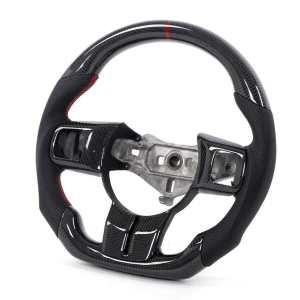Carbon Fiber Steering Wheel   2011-2017 Jeep Wrangler JK/JKU