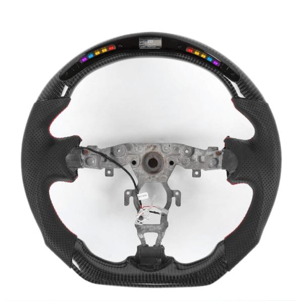 LED RPM Carbon Fiber Steering Wheel   2009-2020 Nissan 370Z