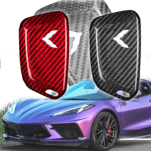 Carbon Fiber Key Fob Cover | 2020+ Corvette C8