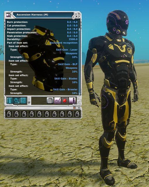 Ascension armor