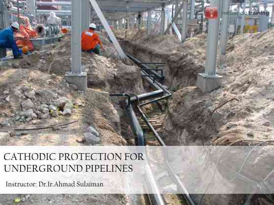 Cathodic Protection For Underground Pipelines, 13 May