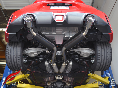 fast intentions tdx round catback exhaust nissan 370z