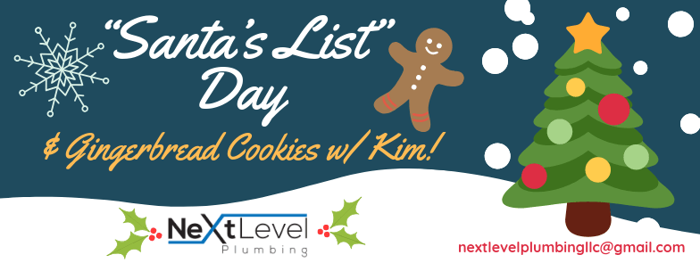 """Santa's List"" Day & Gingerbread Cookies!"