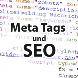 Meta Tags Suchmaschinenoptimierung Blogs