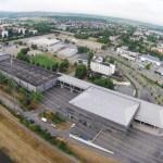 Offenburger Luftbild. Hier: Oberrheinhalle