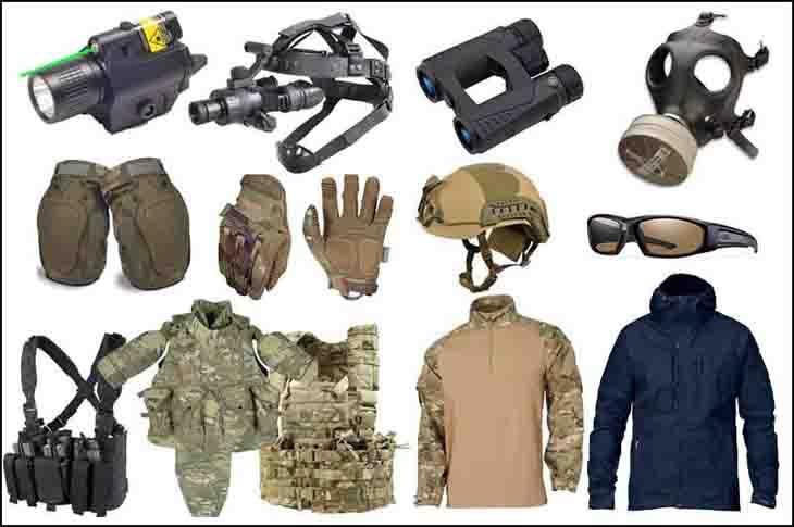 Survival equipment list