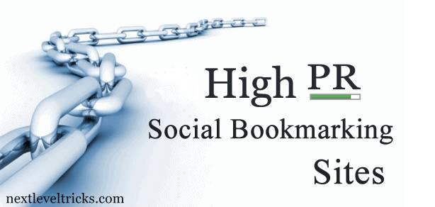 Best High PR Dofollow Social Bookmarking Sites List