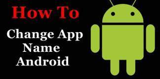How To Change Name Icons on Android