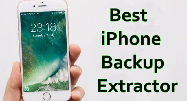 Best iPhone Backup Extractor