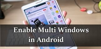 Enable Multi Window Feature in Android