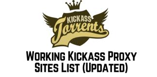 Kickass Proxy & KAT Unblocked Mirror Torrent Sites List