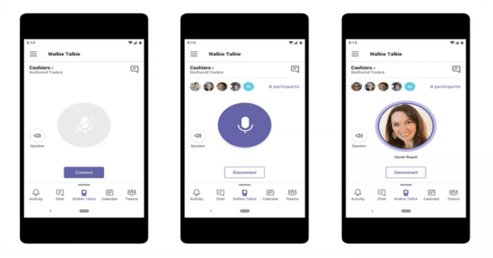 Microsoft Teams is Getting a Walkie Talkie Feature