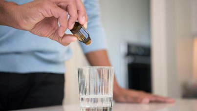 ingesting essential oils