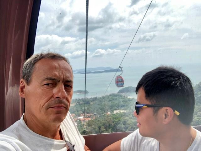 Langkawi skycab : frais le point de vue