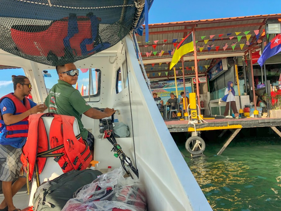 Go to mabul island get a diving break