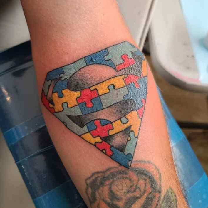 Superman Logo Tattoo -bishtastic_tattoos