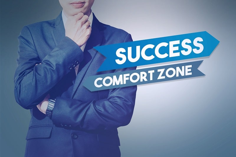 There's only one way to grow as an individual - Successful businessman