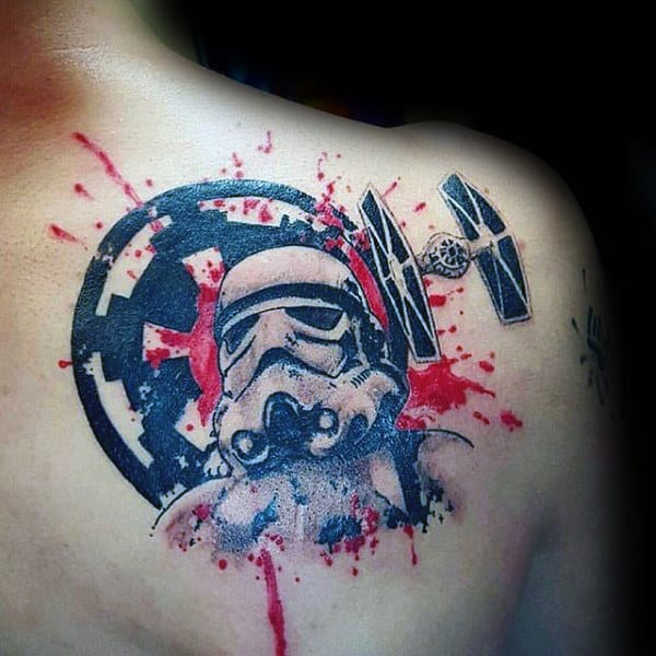 100 Watercolor Tattoo Designs For Men Cool Ink Ideas T