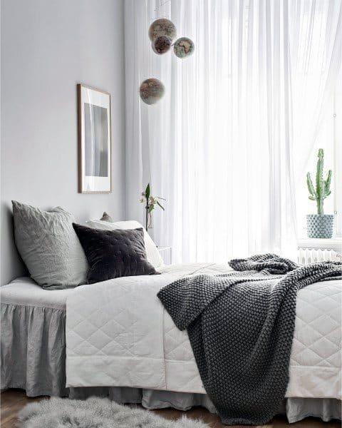 Top 60 Best Grey Bedroom Ideas Neutral Interior Designs