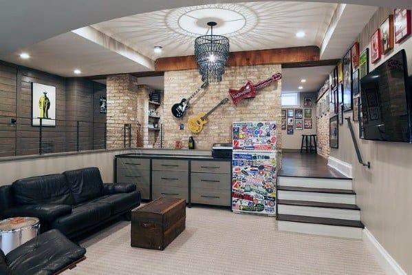top 70 best finished basement ideas