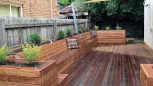 Top 60 Best Deck Bench Ideas Built In Outdoor Seating