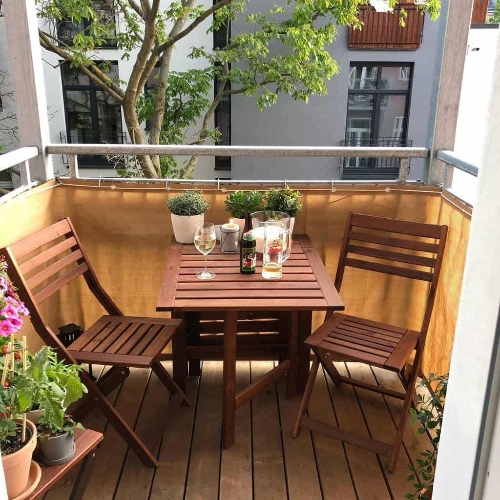 the top 60 patio privacy ideas