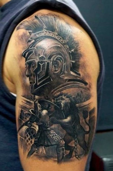 gladiator tattoo ideas