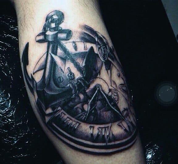 Top 80 Mind Ing Clock Tattoos 2020