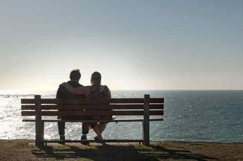 couple enjoying afternoon