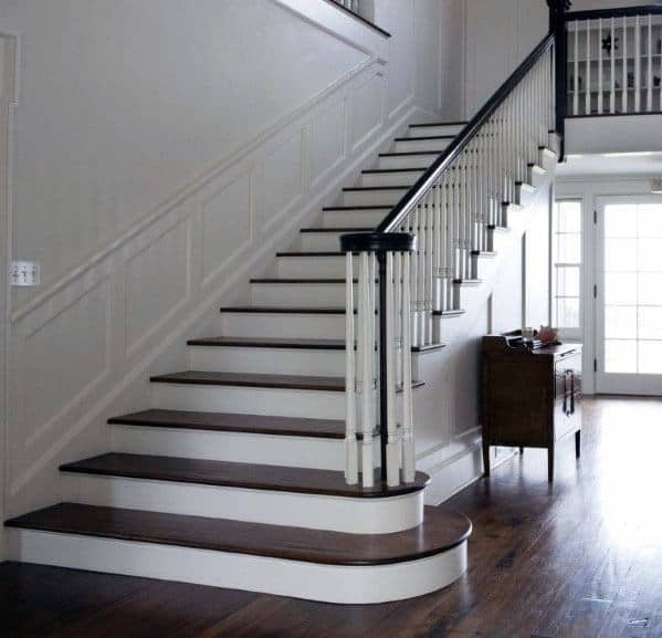 Top 70 Best Stair Railing Ideas Indoor Staircase Designs | Internal Staircase Railing Designs