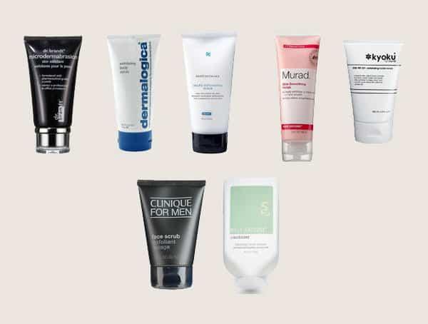 Exfoliants Skincare Tips For Men