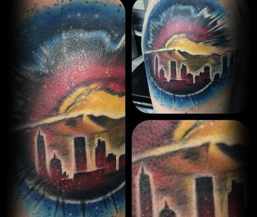 50 Colorado Tattoos For Men Rocky Mountain Design Ideas