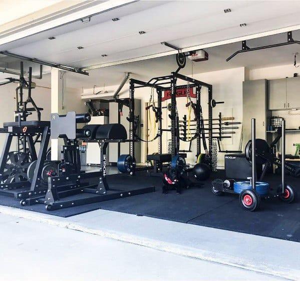 Garage Gym Cool Ideas