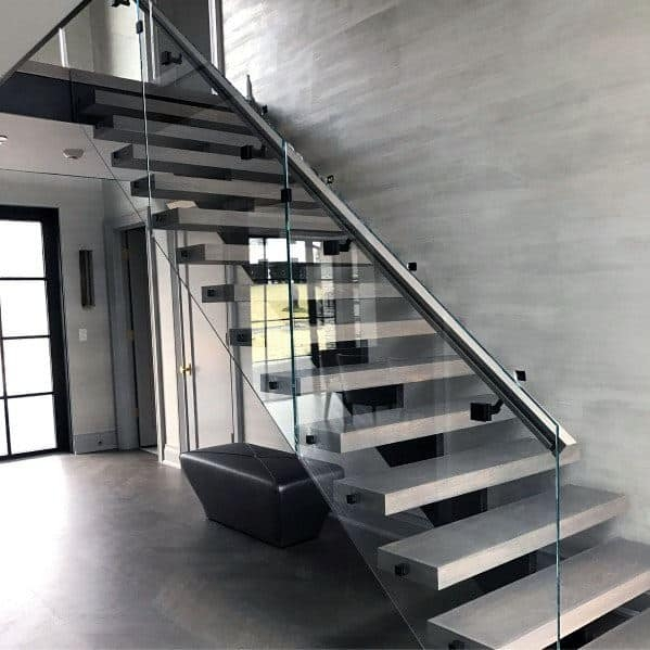 Top 70 Best Stair Railing Ideas Indoor Staircase Designs | Ladder Railing Design Iron | Balcony | Wrought Iron | Railing Ideas | Metal | Baluster