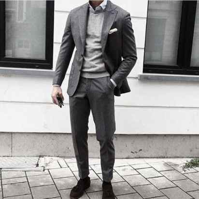 Grey Suits Mens Style Ideas