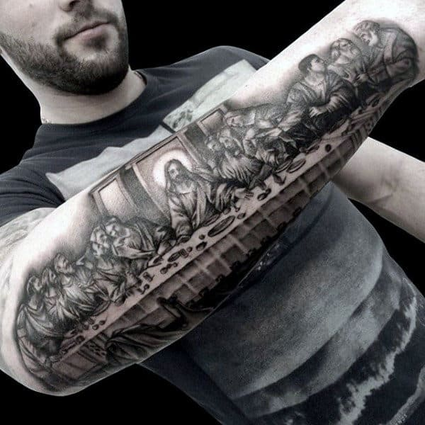Image result for last supper tattoo