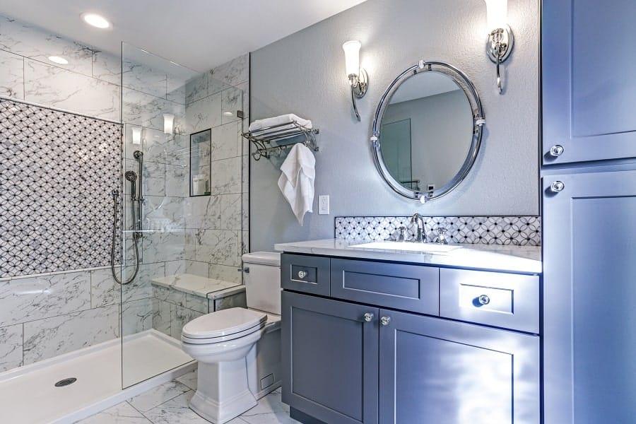 Top 70 Best Marble Bathroom Ideas - Luxury Stone Interiors