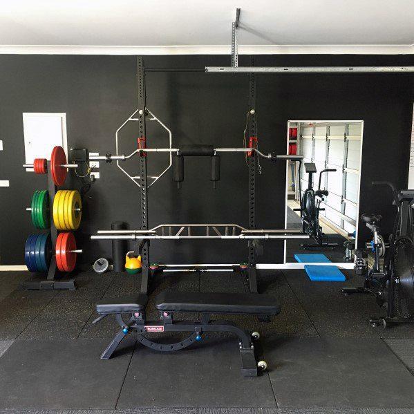 Garage Gym Set Up