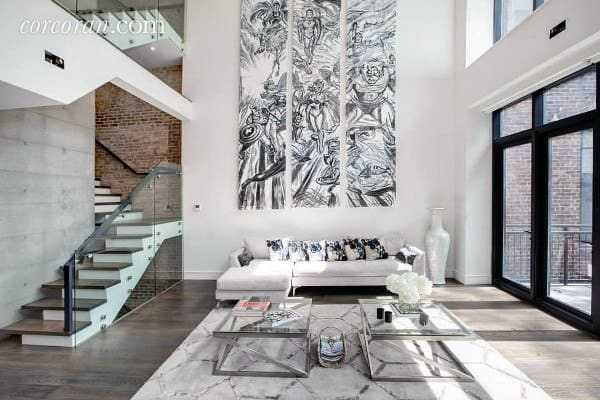 Top 70 Best Staircase Ideas Stairs Interior Designs   Modern Living Room With Stairs   Stylish   House   Mansion   Dining Room   Sleek Modern