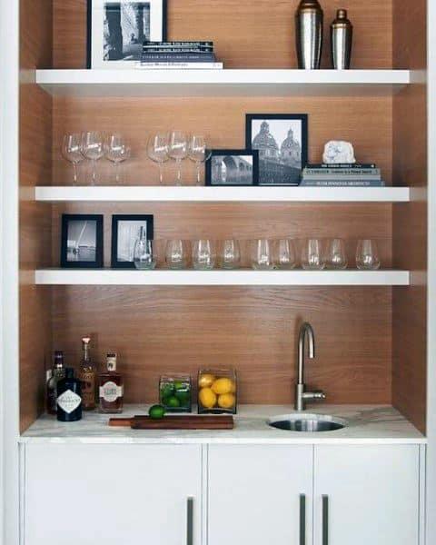 top 70 best home wet bar ideas cool