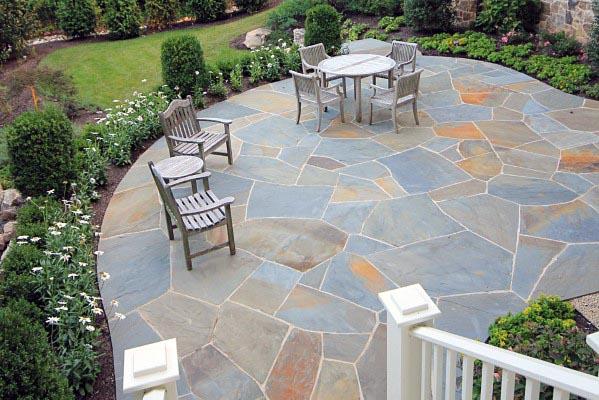 top 60 best flagstone patio ideas