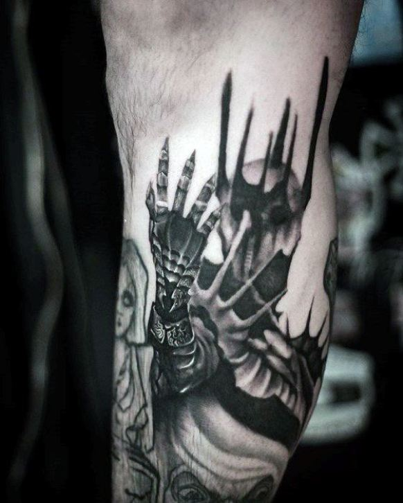 Incredible Male Tattoo Outer Arm Designs
