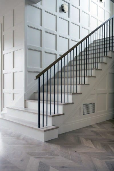 Top 60 Best Stair Trim Ideas Staircase Molding Designs | Designs For Staircase Wall | Stairwell | Stylish | Luxury | Painting | Stone
