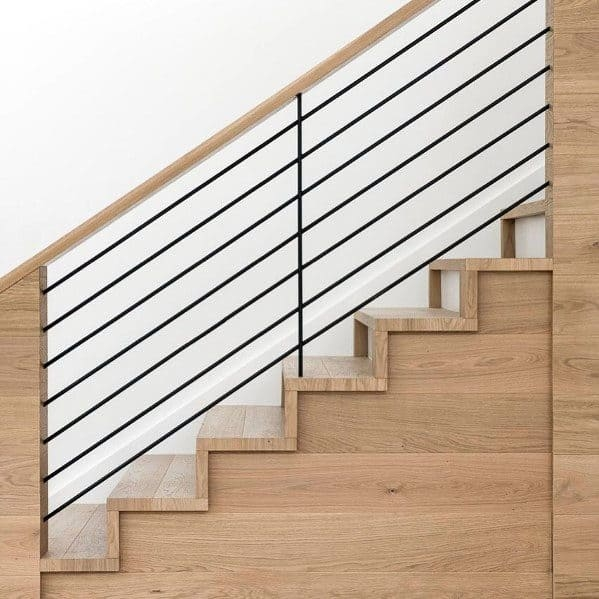 Top 70 Best Stair Railing Ideas Indoor Staircase Designs | Wood Railings For Steps | Craftsman Style | Inside | Glass | Verandah | Stair Outdoors