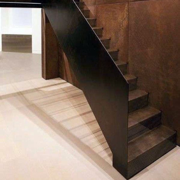 Top 70 Best Stair Railing Ideas Indoor Staircase Designs | Metal Railing Designs Stairs | Rot Iron Staircase | Step | Luxury | Creative Outdoor Stair | Curved Railing