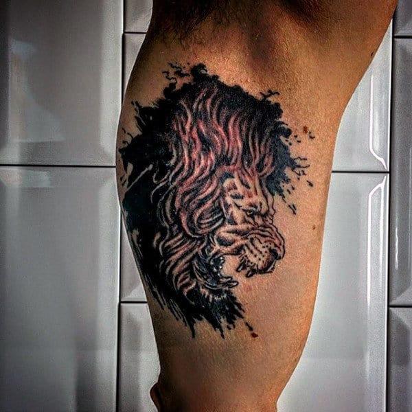 Lion Judah Tattoos Men