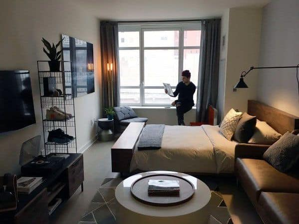 Male Studio Apartments Interior Ideas