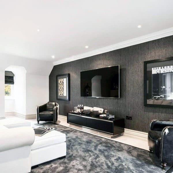 living room decor for guys. Black Bedroom Furniture Sets. Home Design Ideas